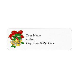 Étiquette Noël Bells