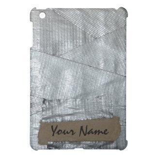Étiquette nommée personnalisée drôle sur le ruban étuis iPad mini
