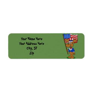 Étiquette Orignaux de patriote