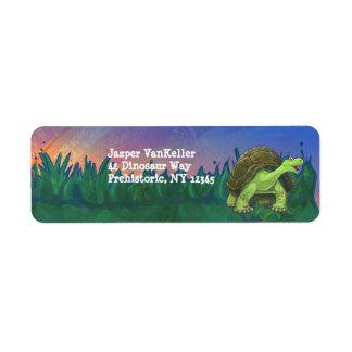 Étiquette Papeterie de tortue