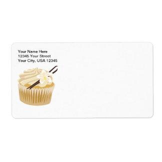 Étiquette Petit gâteau de vanille