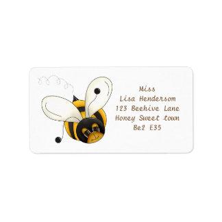 Étiquette Petite abeille douce