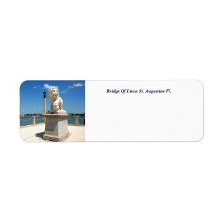 Étiquette Pont des lions