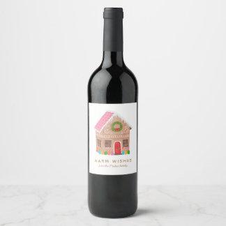 Étiquette Pour Bouteilles De Vin Chauffez les souhaits