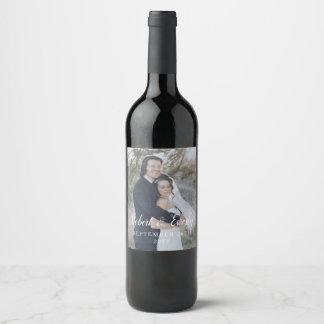 Étiquette Pour Bouteilles De Vin Mariage d'Everly