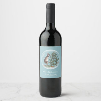 Étiquette Pour Bouteilles De Vin Noël en Australie