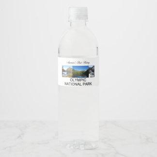 Étiquette Pour Bouteilles D'eau ABH NP olympique