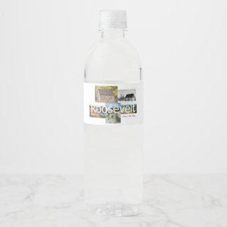 Étiquette Pour Bouteilles D'eau ABH Theodore Roosevelt NP