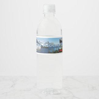 Étiquette Pour Bouteilles D'eau Glacier NP d'ABH