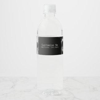 Étiquette Pour Bouteilles D'eau Original radiographié