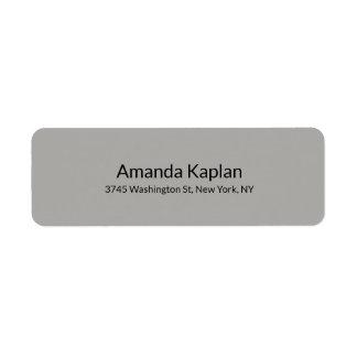 Étiquette Professionnel minimaliste simple moderne de