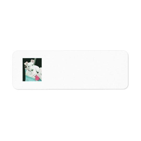 Étiquette Salissez le Jack Russell Terrier