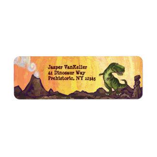 Étiquette Substance d'écriture de Rex de Tyrannosaurus