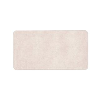 Étiquette Vieux blanc de papier de modèle de parchemin