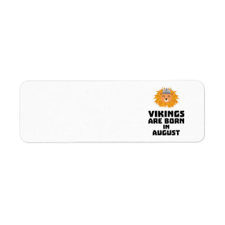 Étiquette Vikings sont en août Z7v9w nés