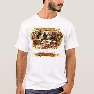 Étiquette vintage de cigare de tisonnier t-shirt