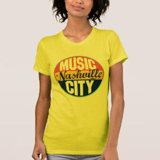 Étiquette vintage de Nashville T-shirt