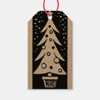 Étiquettes astucieuses de Noël
