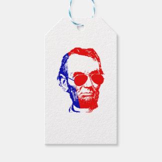 Étiquettes-cadeau Abraham Lincoln