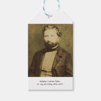 Étiquettes-cadeau Adolphe Charles Adam, 1855