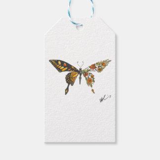 Étiquettes-cadeau Ailes de papillon