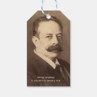 Étiquettes-cadeau Alfred Grunfeld