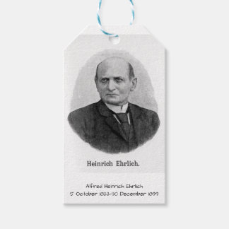 Étiquettes-cadeau Alfred Heinrich Ehrlich