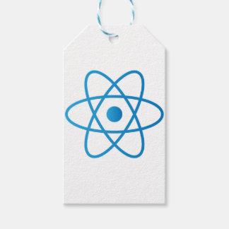 Étiquettes-cadeau Atome d'isolement par résumé