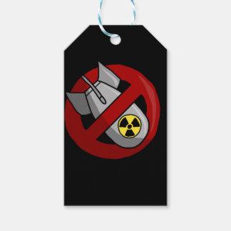 Étiquettes-cadeau Aucunes armes nucléaires
