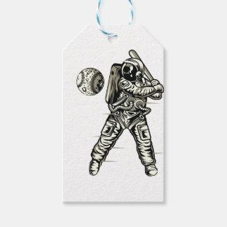 Étiquettes-cadeau Base-ball de l'espace