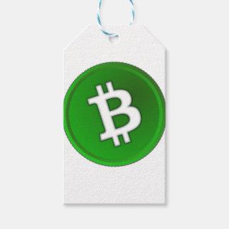 Étiquettes-cadeau Bitcoin