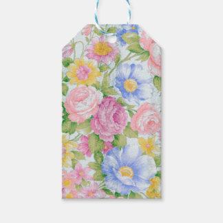 Étiquettes-cadeau Bouquet