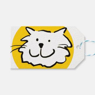 Étiquettes-cadeau Cette conception de chat