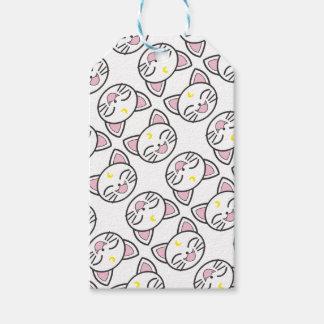 Étiquettes-cadeau chat de lune