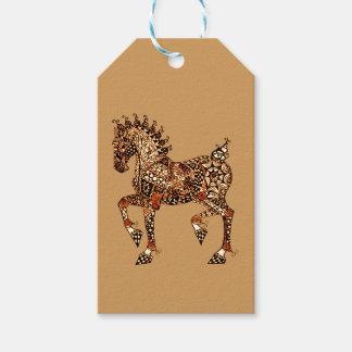 Étiquettes-cadeau Cheval 9
