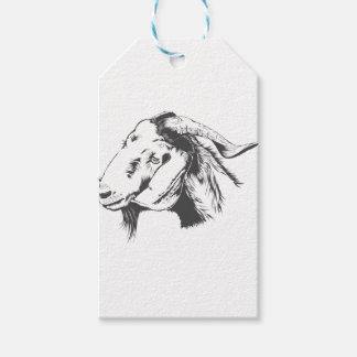 Étiquettes-cadeau chèvre