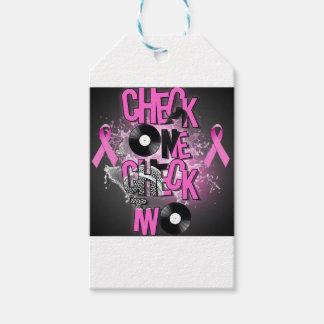 Étiquettes-cadeau Conscience de cancer du sein