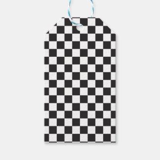 Étiquettes-cadeau Contrôleur noir et blanc parfait
