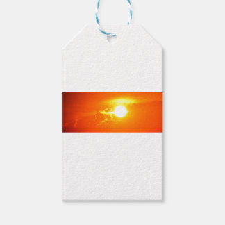 Étiquettes-cadeau coucher du soleil 3
