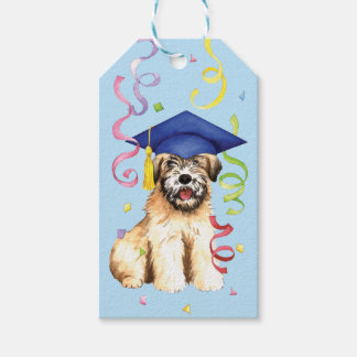 Étiquettes-cadeau Diplômé blond comme les blés