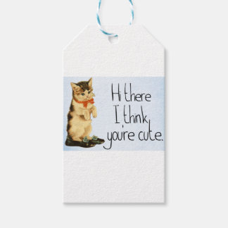 Étiquettes-cadeau Dire de chat