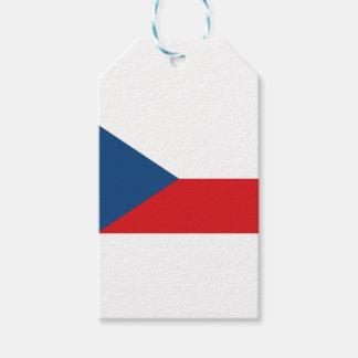 Étiquettes-cadeau Drapeau de République Tchèque - vlajka de Česká