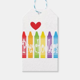 Étiquettes-cadeau école maternelle teacher2