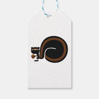 Étiquettes-cadeau Écureuil de Ninja