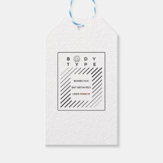 Étiquettes-cadeau Établit des butées toriques d'amours