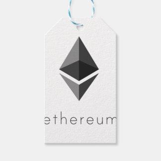 Étiquettes-cadeau Ethereum