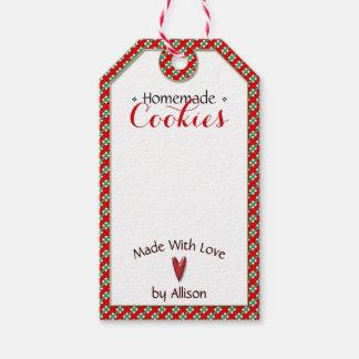 Étiquettes-cadeau Fait main et fait maison • Métiers des biscuits |