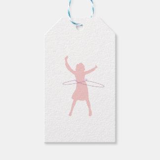 Étiquettes-cadeau fille de danse polynésienne