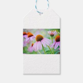 Étiquettes-cadeau Fleurs sauvages pourpres