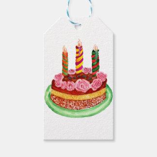 Étiquettes-cadeau Gâteau de chocolat